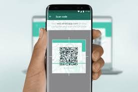 Mobile whatsapp scan Web Whatsapp QR Code- NewsTrends