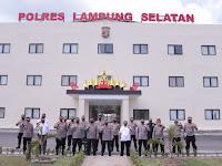 Wakapolda Lampung Kunjungi Mapolres Lampung Selatan