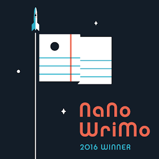 #NaNoWriMo2016: Winner