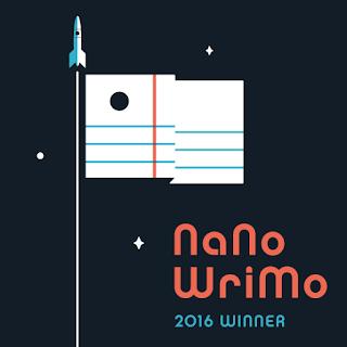 #NaNoWriMo2016: Winner