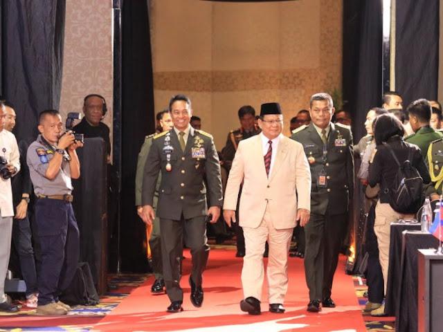 Prabowo Ternyata Gurunya Jenderal Andika Perkasa