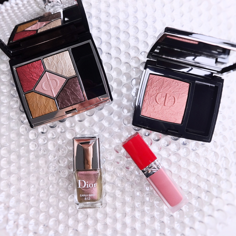 Dior Fall 2021 Bird of a Feather Collection review swatches makeup look