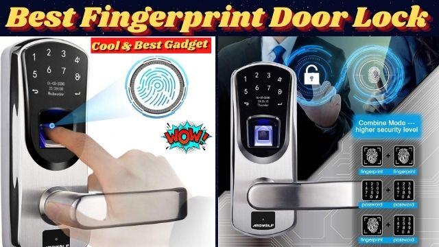 Fingerprint Door Lock-Smart Home Best Gadgets
