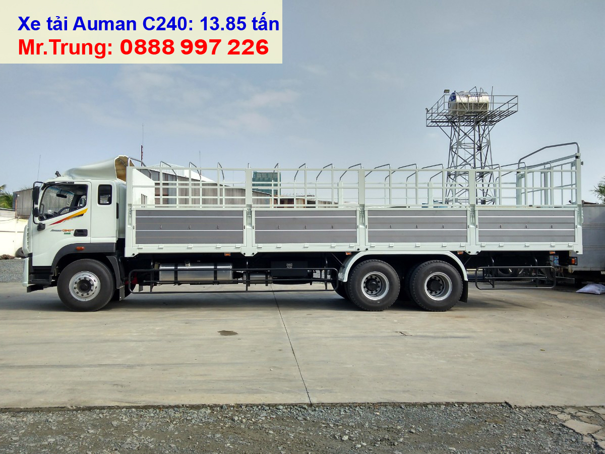xe-tải-Thaco-Auman-C240-3-chân-tải-trọng-14-tấn-thùng-dài-9.5-mét