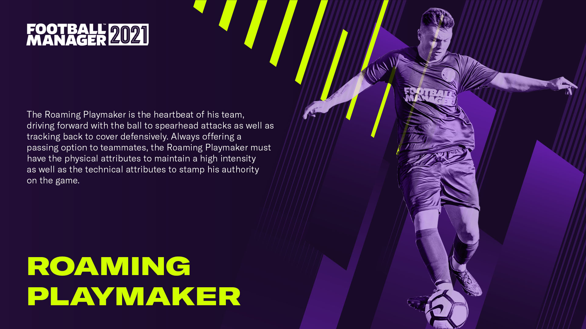 Roaming Playmaker Football Manager