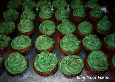 Cupcakes de lúcuma