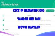 Virall Lagi Aplikasi Pangoog Ceck-in Doang Di Bayar Rp.2000