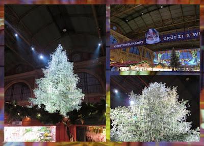 Zurich in Winter - Christmas Market at the Hauptbahnhof