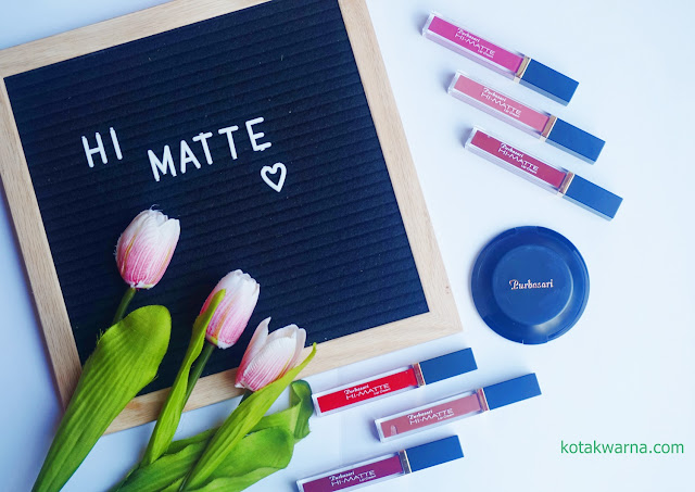 Review: 6 Varian Warna Baru Purbasari Hi Matte Lip Cream Hydra Series
