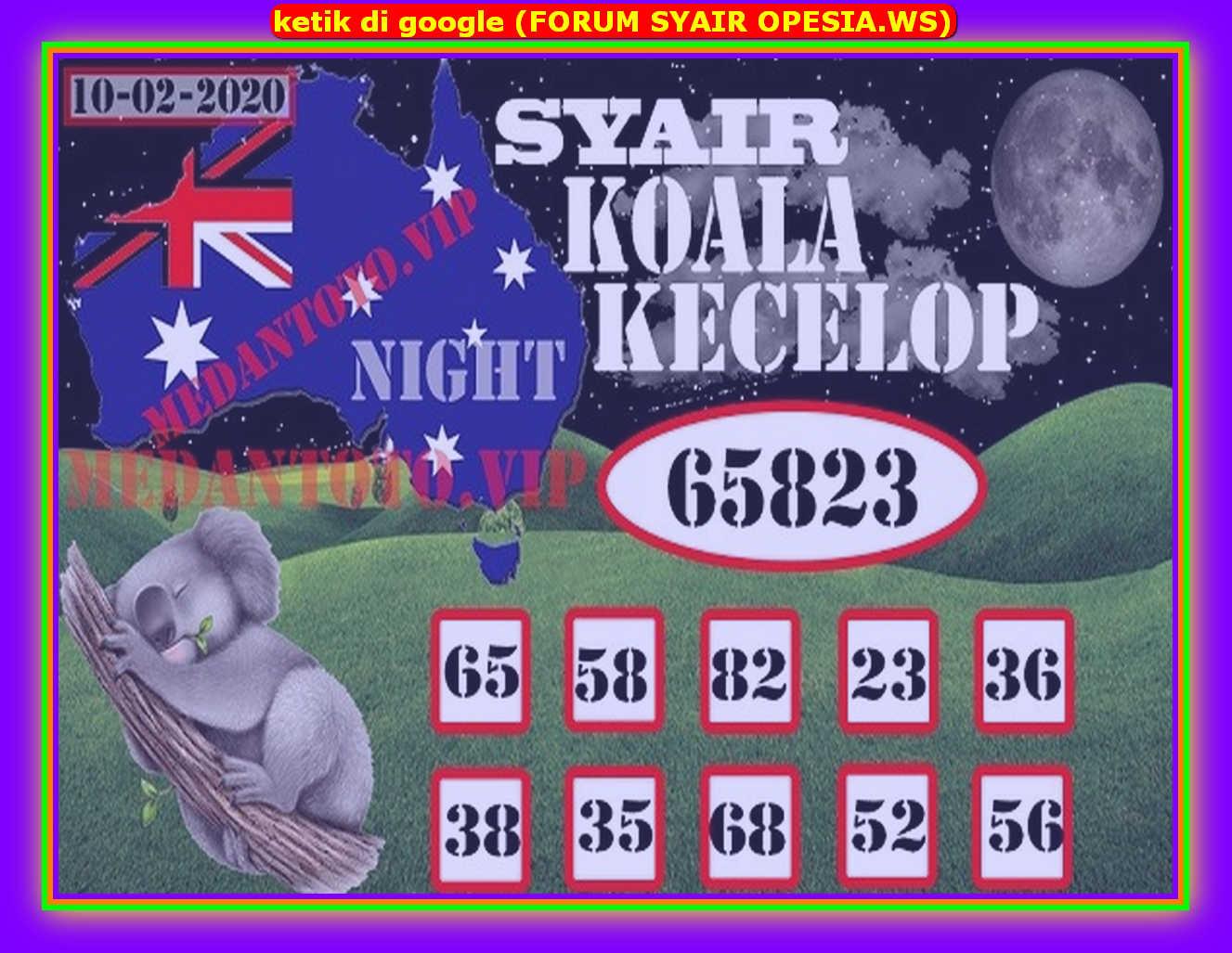 Kode syair Sydney Senin 10 Februari 2020 77