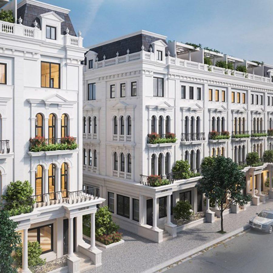 Mua bán căn góc cây xanh Louis Hoàng Mai, vị trí ngã 3 rất đẹp diệt tích 112m2, mặt tiền 6m