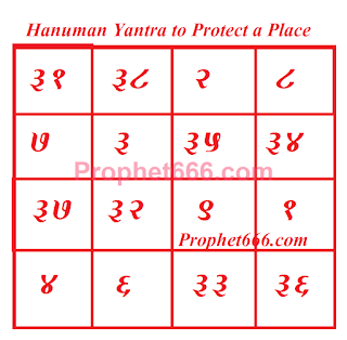 Hanuman Occult Spell to Protect a Place