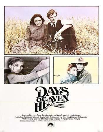 Poster Of Hollywood Film Watch Online Days of Heaven 1978 Full Movie Download Free Watch Online 300MB