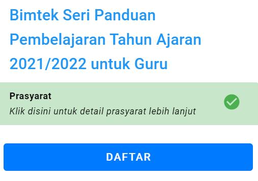 gambar bimtek seri panduan pembelajaran 2021 2022