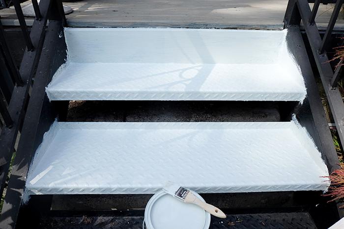 primer coating two steps complete