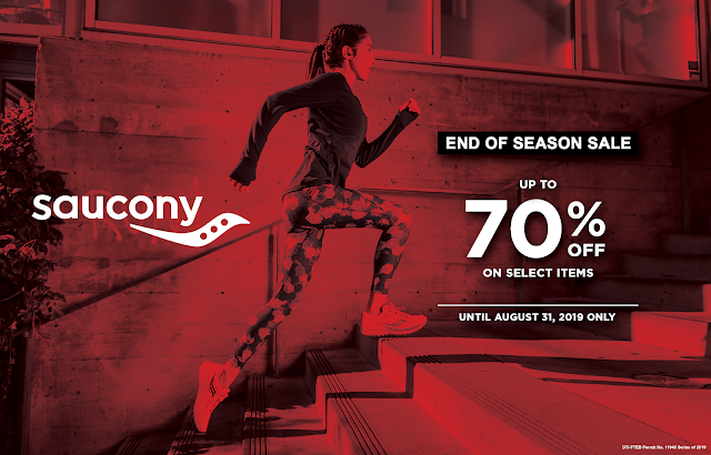70% OFF on SAUCONY for August 2019