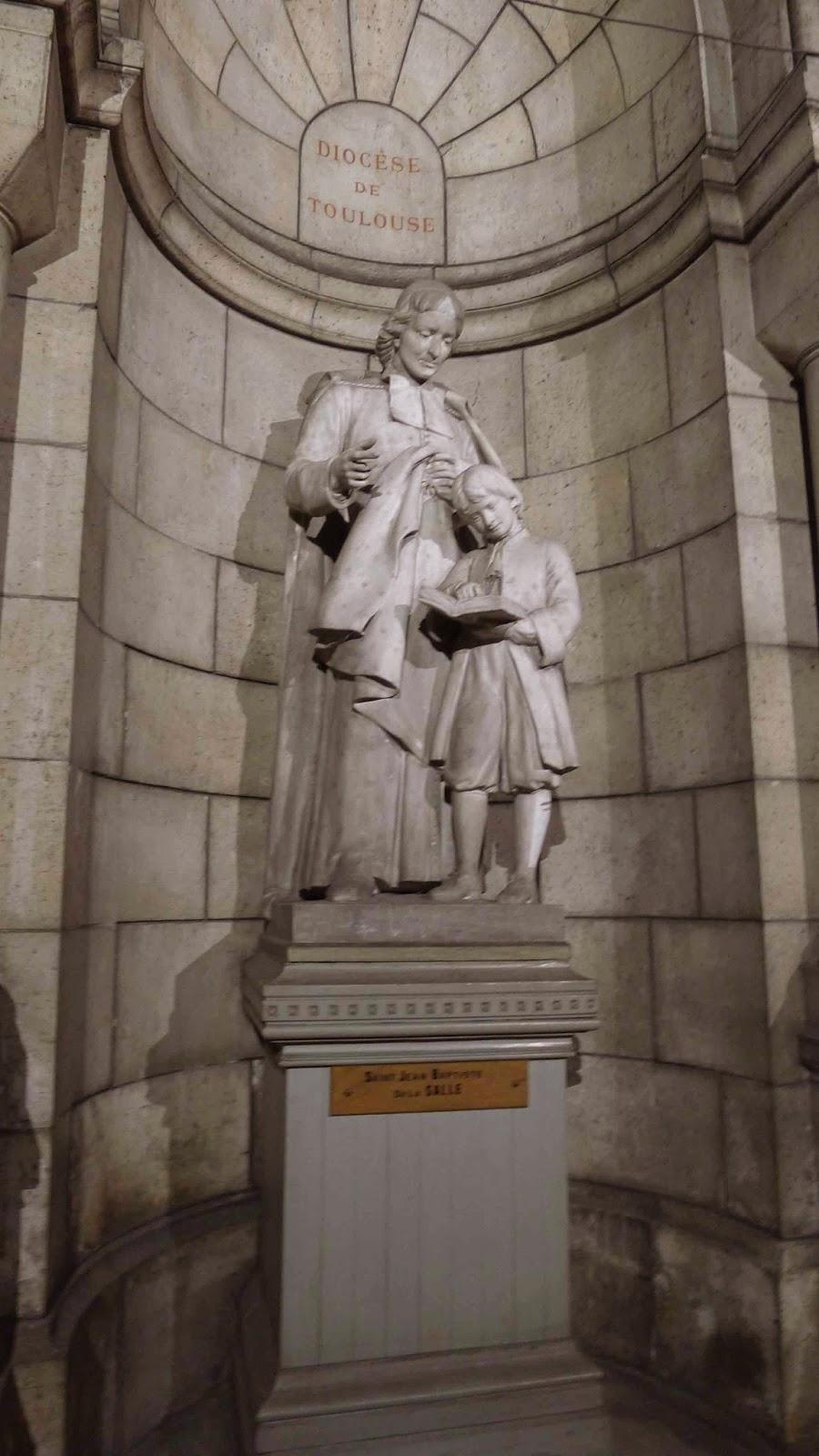Sacre Coeur Crypt Jean Baptiste de Lasalle