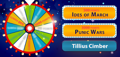 Look at the clues on the wheel! There is another Blue clue, but it could also be misleading you. Take it or leave it to answer the question: Who are we talking about here?