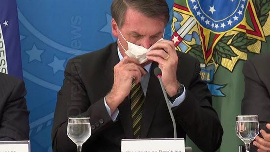 trf bolsonaro entregar resultado exames coronavirus