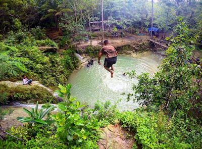Air Terjun Kedung Pengilon: Nuansa Alami Khas Kasihan Bantul
