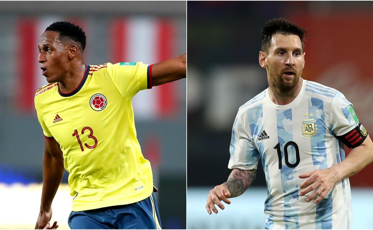 مباراة الارجنتين وكولومبيا اليوم