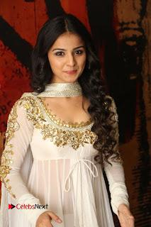 Telugu Actress Mahima Makwana Stills in White Desginer Dress at Venkatapuram Movie Logo Launch  0006.JPG