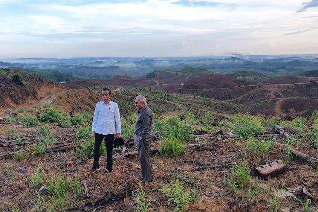 Jokowi Akui Ada Bagi-bagi Proyek Pemindahan Ibu Kota