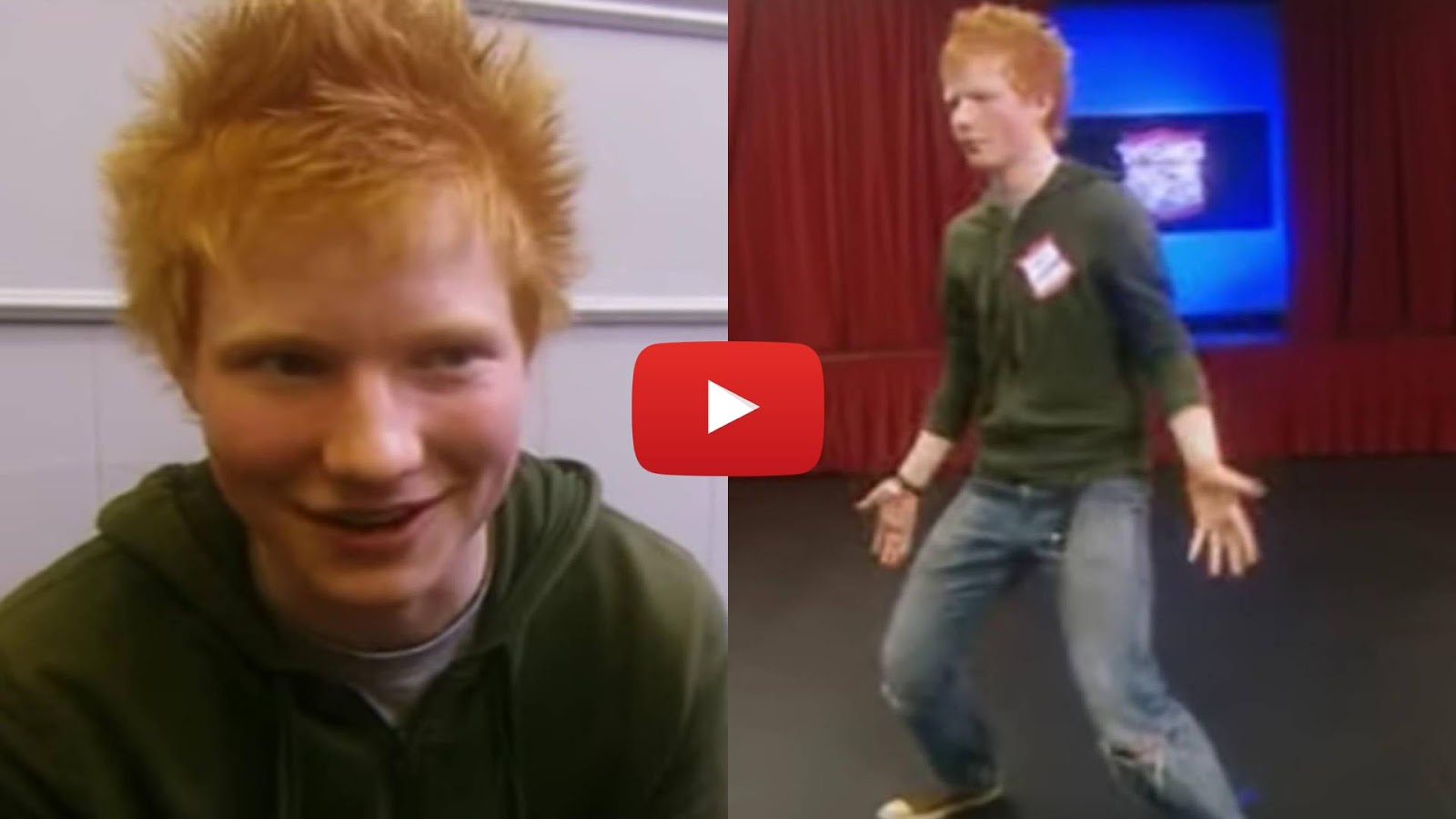 16 Year-Old Ed Sheeran auditions for Britannia High (2007) Britannia High was a short-lived UK TV series