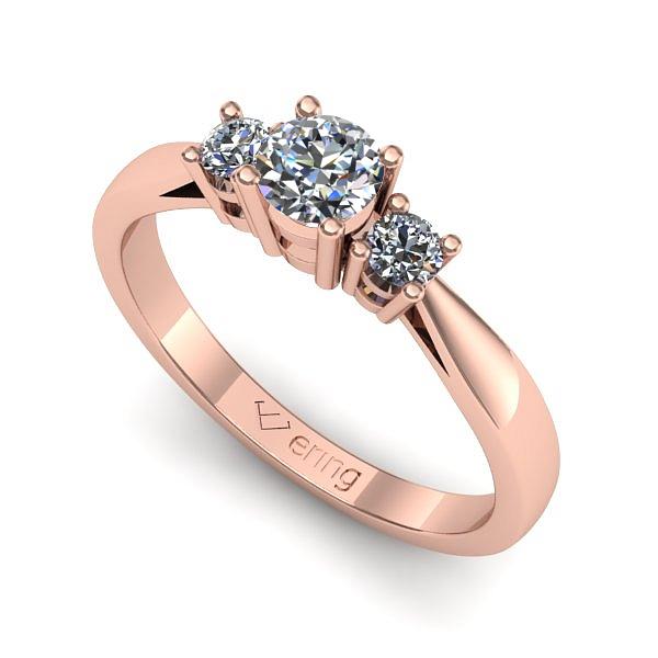 Inel de logodna cu piatra pretioasa