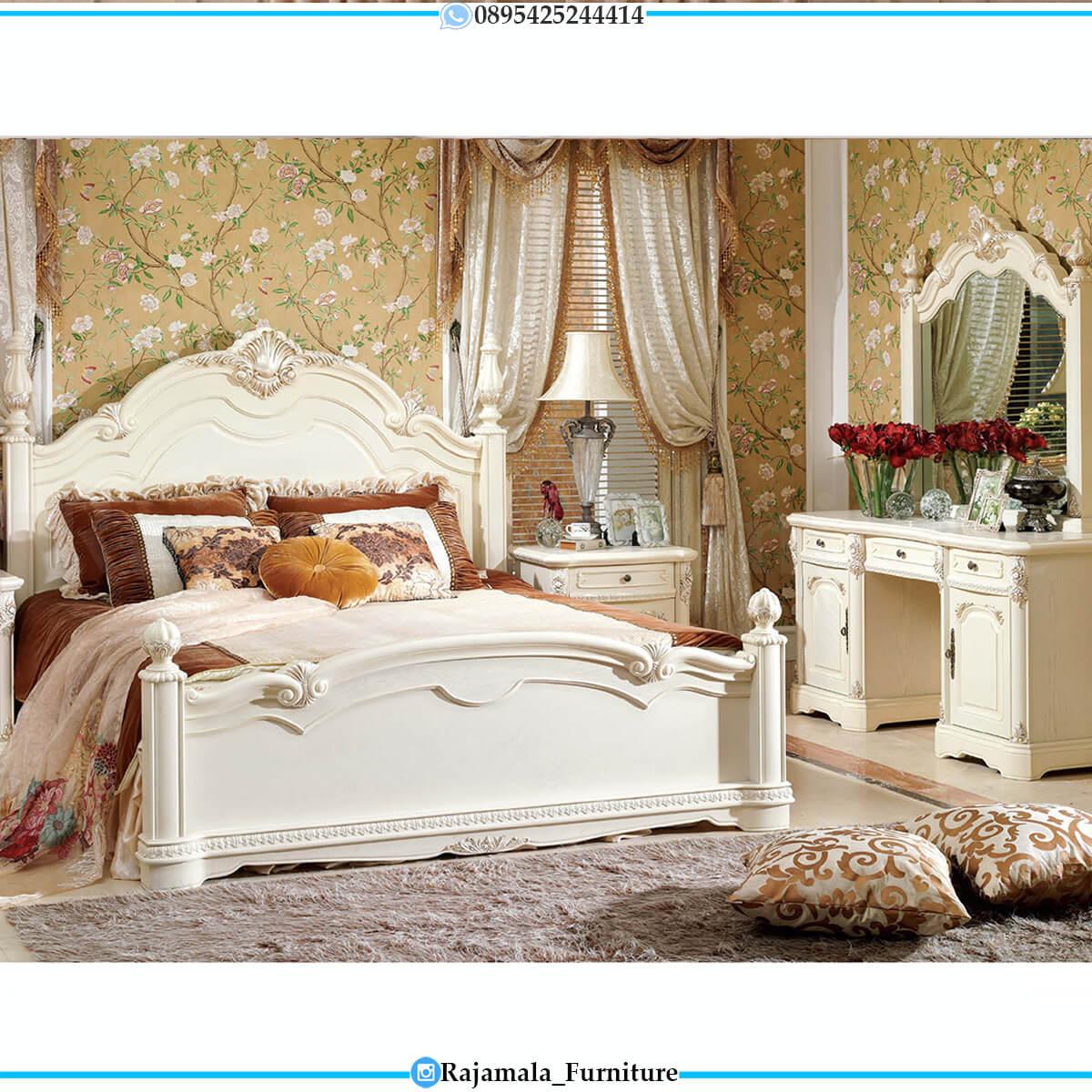 Tempat Tidur Mewah Ukir Jepara Luxury Classic Carving Style RM-0650