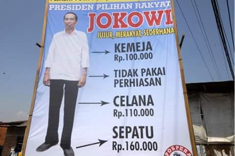 Allah Bongkar Pencitraan Palsu Jokowi! Tak Sederhana, Sepatu Jokowi Seharga 2.3 Juta