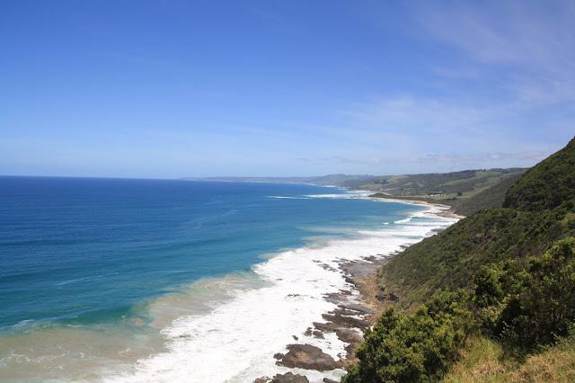views of coastline