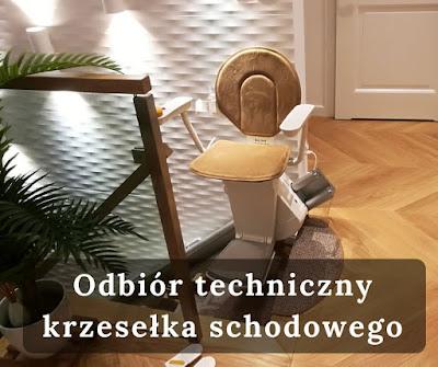Jak przeprowdzadzić odbiór techniczny krzesła schodowego?