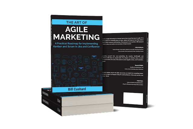 Bill Cushard book - agile marketing