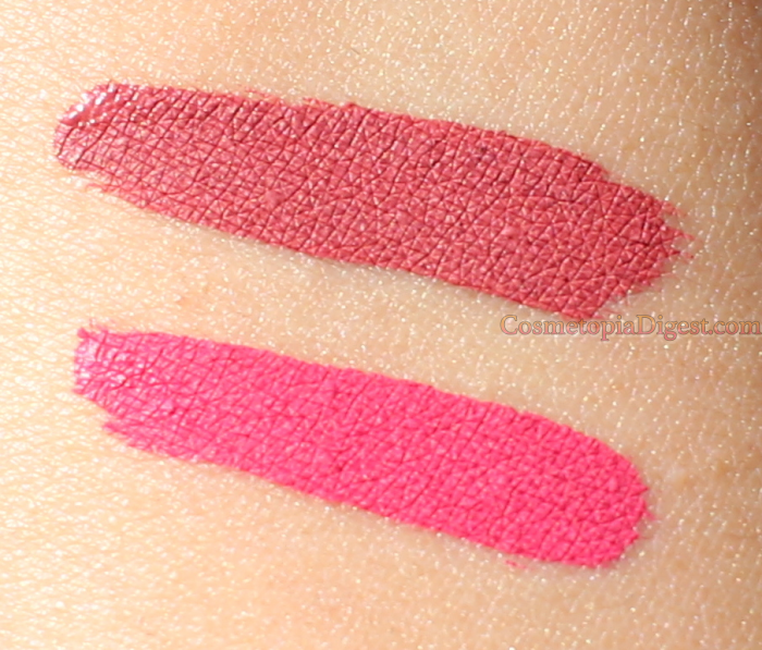 Laura Geller Fifty Kisses Lip Locking Liquid Lip Colour Swatches