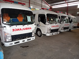 Modifikasi Ambulance''menjual Isuzu ELF''karoserie bekasi//