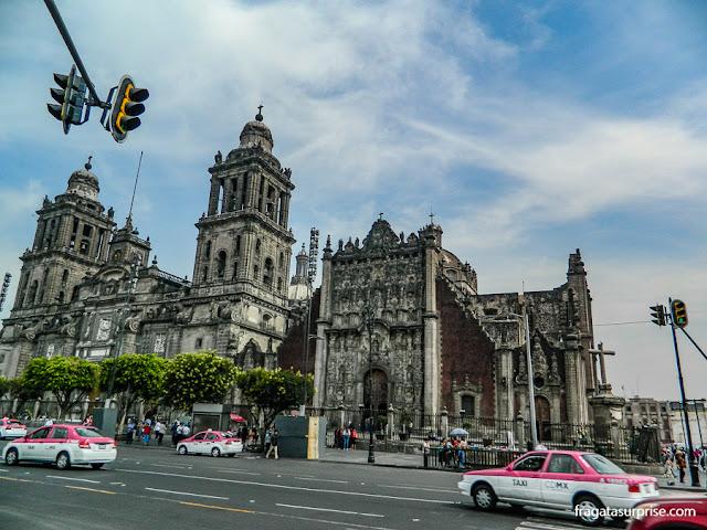 Táxis na Cidade do México