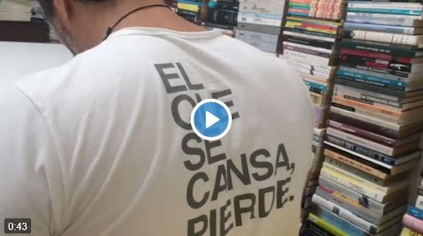 Video de Leopoldo Lopez en el plebiscito votando desde su casa