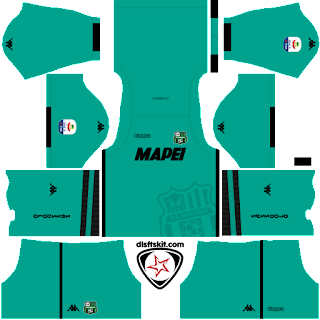 US Sassuolo Calcio 2018 - 2019 GK Home Kit