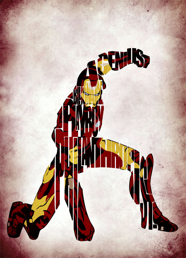 Robert Downey Jr. as Tony Stark as Iron Man in The Avengers