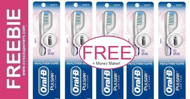 FREE Oral-B Battery Powered Toothbrush