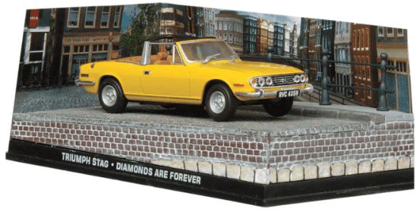 Triumph Stag - Diamonds are forever 1:43 colección james bond