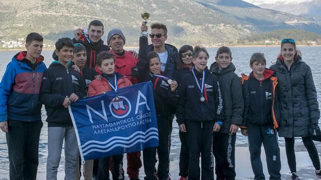 Εντυπωσιακή εμφάνιση της ιστιοπλοϊκής ομάδας του Ν.Ο.Α. στο Περιφερειακό Πρωτάθλημα Βορειοδυτικής Ελλάδας