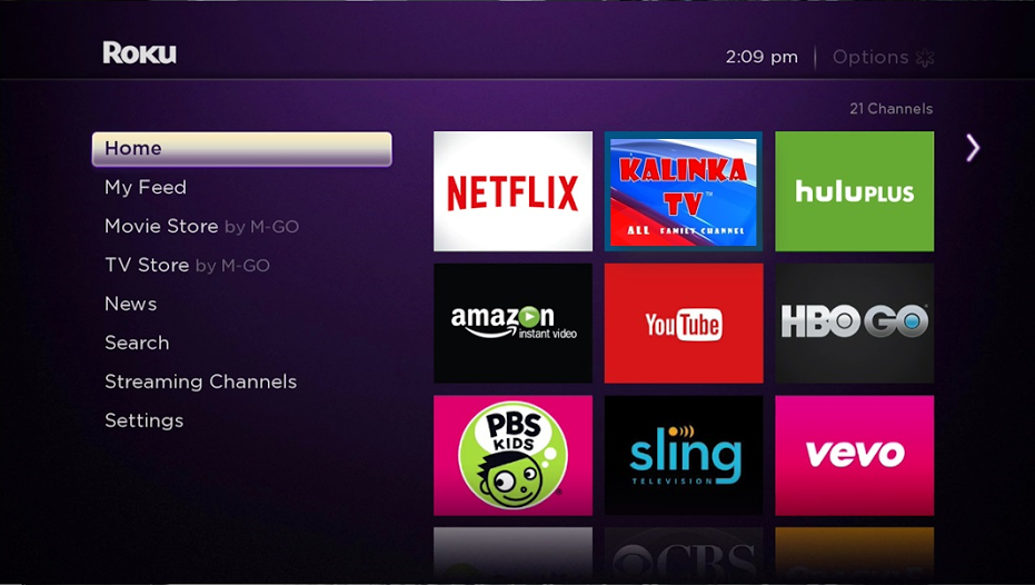 Channel streaming tv