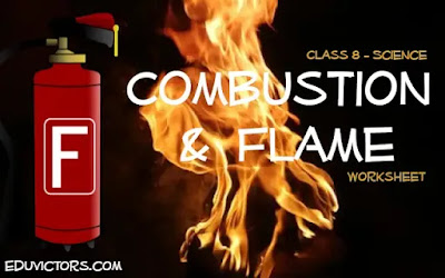 CBSE Class 8 - Science - Combustion and Flame (Worksheet)(#class8Science)(#combustion)(#eduvictors)