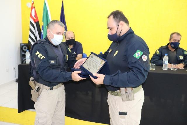 PRF realiza passagem de comando da Delegacia de Registro-SP