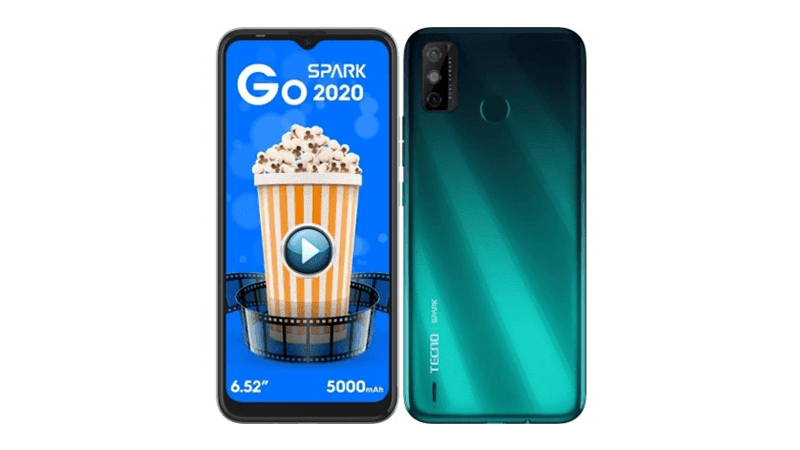 TECNO Spark Go 2020 with 2GB RAM and Android 10 (Go edition) OS announced