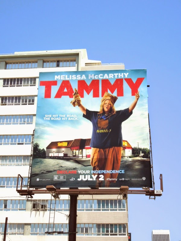Melissa McCarthy Tammy film billboard
