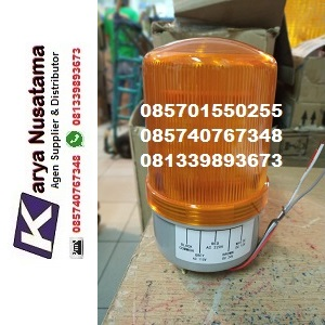 Jual 12VDC - 220VAC Multivoltage LED Lampu Rotary Pabrik di Kendal