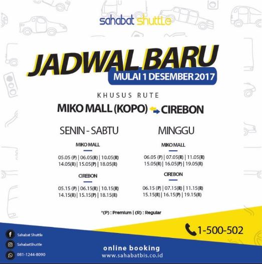 Jadwal Travel Cirebon Bandung